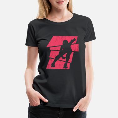 Roller Skating Roller Derby Fun - Women's Premium T-Shirt