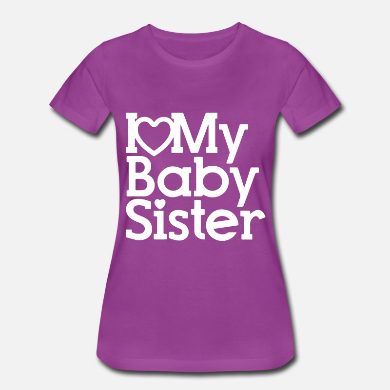 I Love My Baby Sister Kids T Shirt New Born Baby G By Ashton Parer