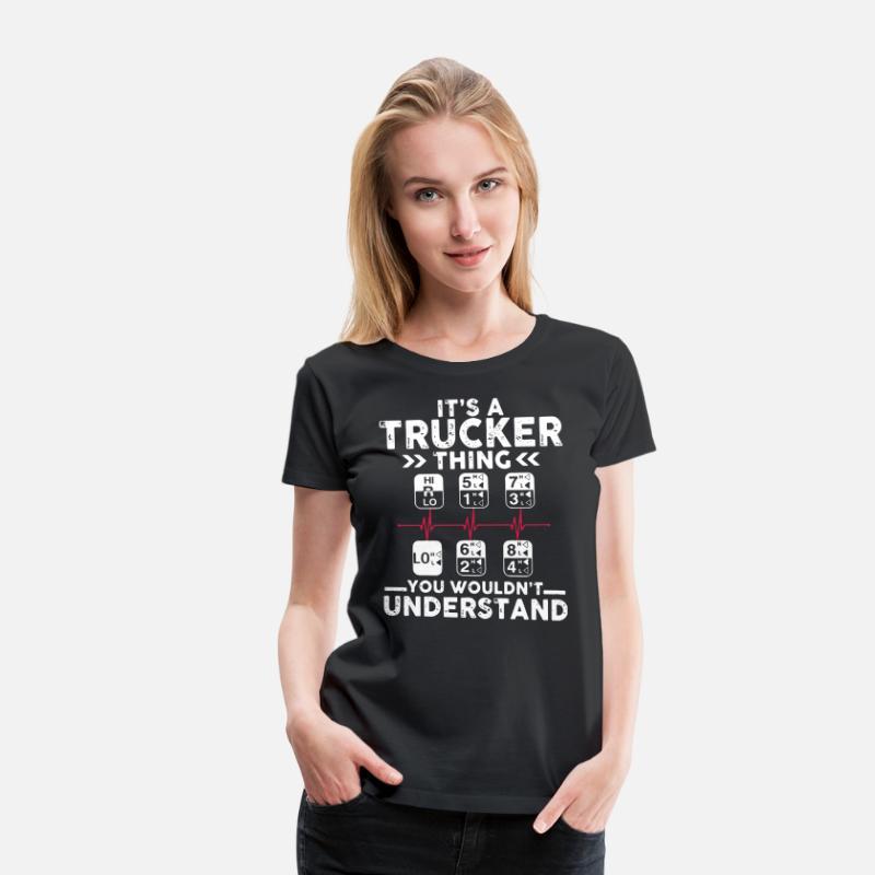 It's A Trucker Things You Wouldn/'t Understand Standard Men Ladies SweatShirt