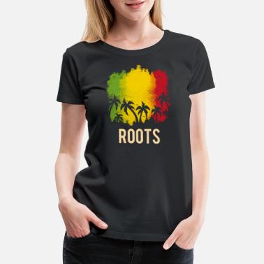 Alternative Roots reggae gift - Women's Premium T-Shirt