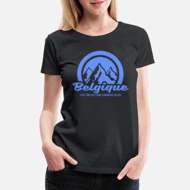 28b2d972e Women s Vintage Sport T-Shirt. Belgium. from  35.95. Belgium belgium nature  mountains gift - Women  39 s Premium ...
