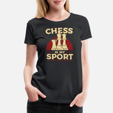 Sportscar Chess best sport - Women's Premium T-Shirt