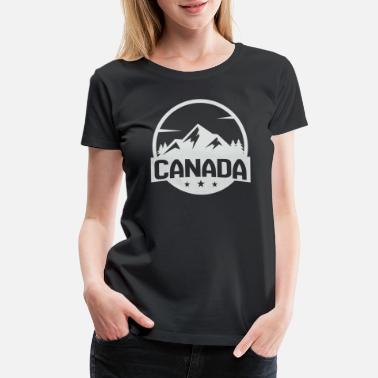 I Love It Canada Mountain - Women's Premium T-Shirt