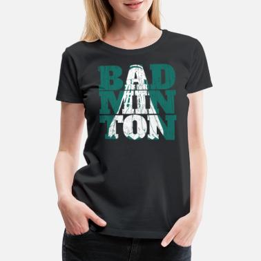 Rally badminton - Women's Premium T-Shirt