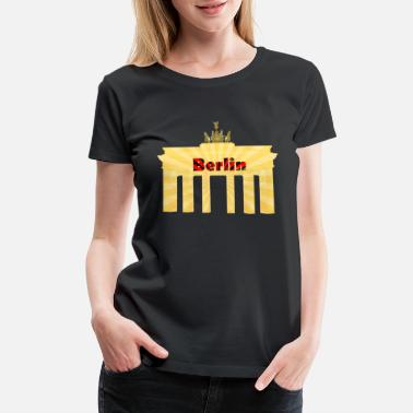 Capital Of Germany Berlin Capital City of Germany - Women's Premium T-Shirt