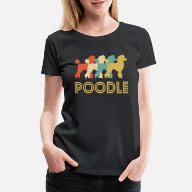 Poodle Poodle Pop Art - Women's Premium T-Shirt
