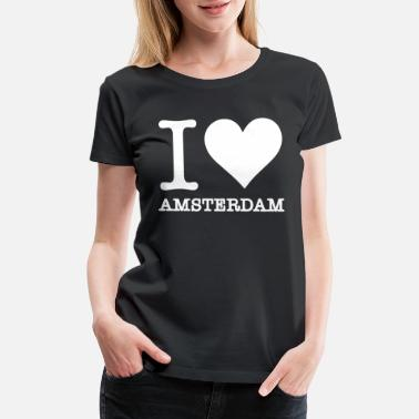 Brooklyn Bridge my love is amsterdam 2 - Women's Premium T-Shirt