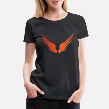 Angelwings WINGS - Women's Premium T-Shirt
