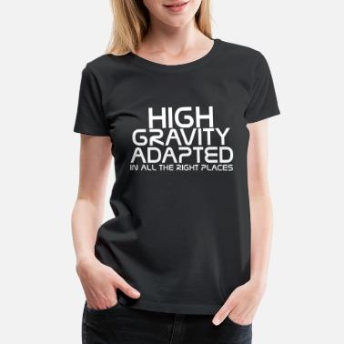 Qrcode Mass effect - High gravity adapted in all the ri - Women's Premium T-Shirt