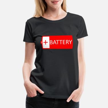 Batteries battery - Women's Premium T-Shirt