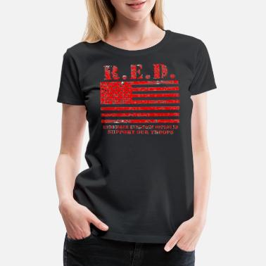 Red Friday Army Mom Red Friday Wear Red On Friday - Women's Premium T-Shirt