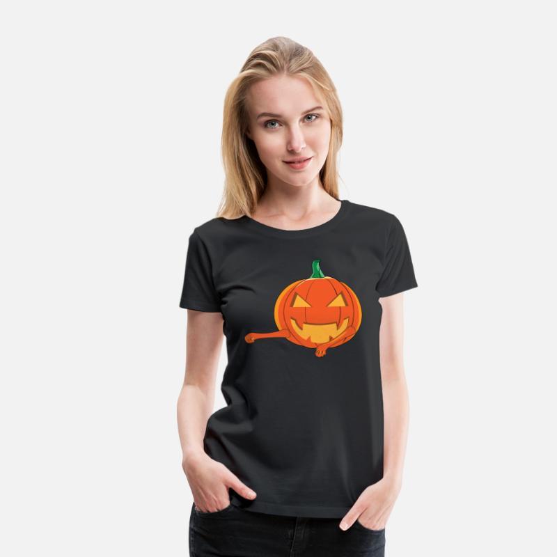 Floss Dance Lady Fit Women T Shirts 500f9 Halloween Pumpkin Women T Shirt