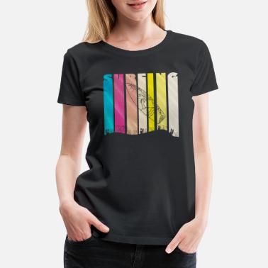 c517e995 Hang Loose Cool SURFBOARD | Sand Summer Palm look | Gift - Women'. New.  Women's Premium T-Shirt