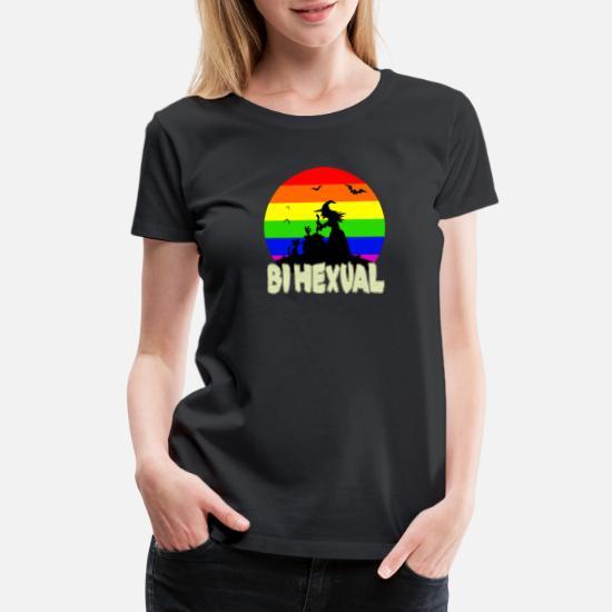 Gay Pride Halloween Costume.Lgbt Bisexual Gay Pride Halloween Costume Women S Premium T Shirt