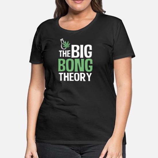 49f77458 Marijuana Cannabis Weed Stoner 420 Funny Gift - Women's Premium T-Shirt.  Back. Back. Design. Front. Front