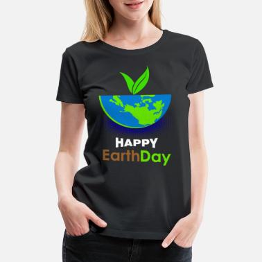 Clean Earth Earthday Mother Earth - Women's Premium T-Shirt