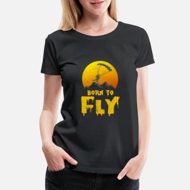 Free Fall Born To Skydive Kids // Childrens T-Shirt SkyDiving Sky Dive