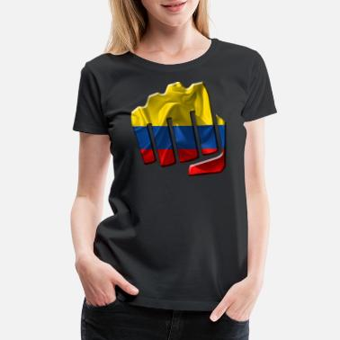 Colombia Designs Colombia - Women's Premium T-Shirt