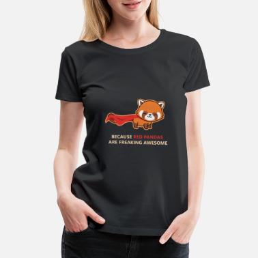 Womens Rights Red panda hero gift - Women's Premium T-Shirt