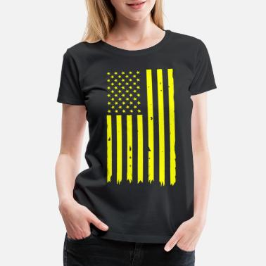 Esoteric Healing stripes 1 - Women's Premium T-Shirt