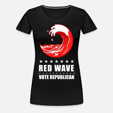 Midterms Red Wave Vote Republican 2018 Women S Organic T