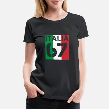 Italia Italien Italia Fussball wm queen king meister 67 - Women's Premium T-Shirt