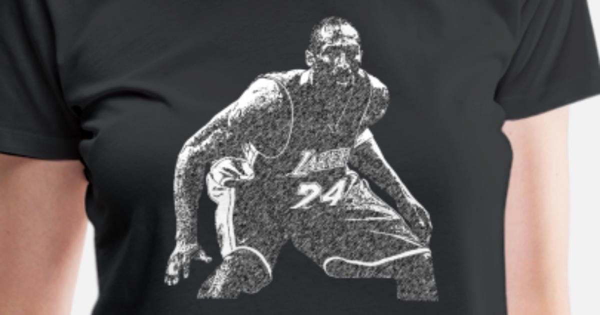 kobe Bryant Pencil sketch Women s Premium T-Shirt  edea5bbada
