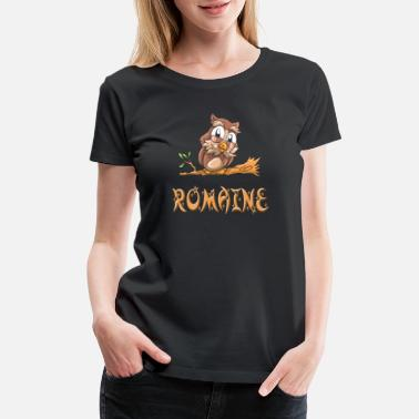 Romain Romaine Owl - Women's Premium T-Shirt