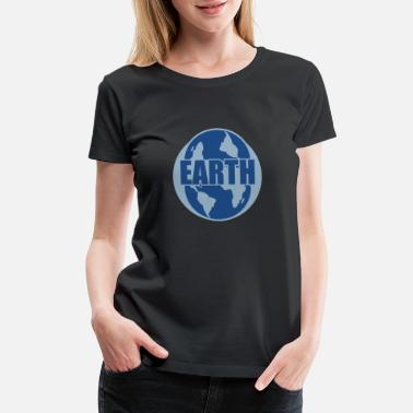 Save Animals Earth, Mother Earth, Earth Day - Women's Premium T-Shirt