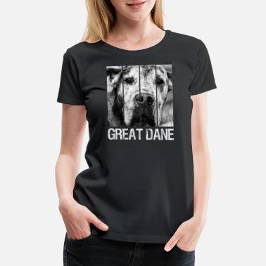 Dane Danish Danish mastiff Great Dane dog Great Dane mastiff - Women's Premium T-Shirt