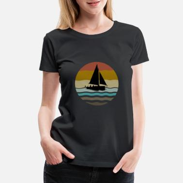 Picture Sailing - Women's Premium T-Shirt
