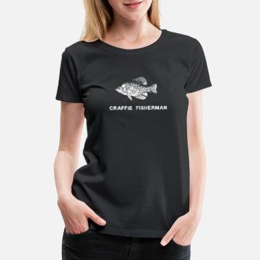 Crappy CRAPPIE FISHING print CRAPPIE FISHING - Women's Premium T-Shirt