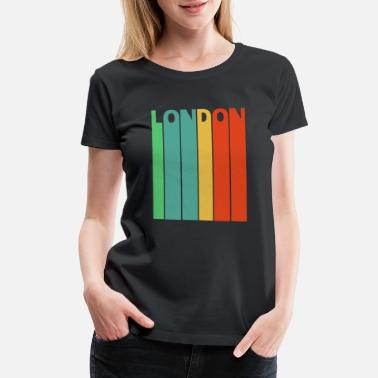 Ferris Wheel Vintage Retro London Gifts. - Women's Premium T-Shirt