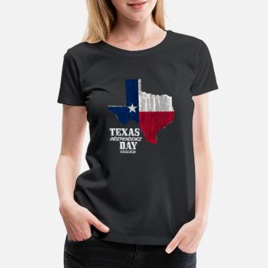 Blessed Home Texas Independence Day March 2018 - Women's Premium T-Shirt