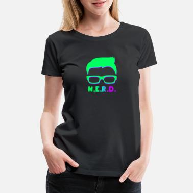 Intelligent Kids Intelligent Nerd - Women's Premium T-Shirt