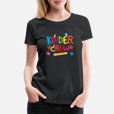 Preschool Teacher Assistant Kinder Crew - Women's Premium T-Shirt