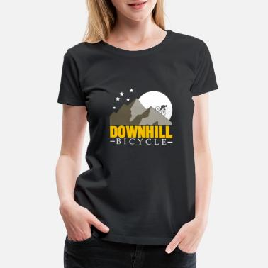 Forest Hill Drive Downhill Bicycle christmas gift teens birthday - Women's Premium T-Shirt
