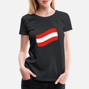 Rummel Austria gift vacation flag map - Women's Premium T-Shirt