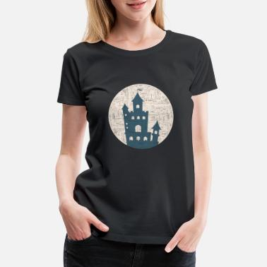 England lock gift prince Castle king - Women's Premium T-Shirt