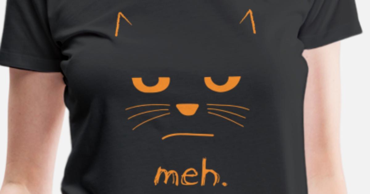 8c91ebe8 Funny Halloween Cat t shirt MEH Women's Premium T-Shirt | Spreadshirt