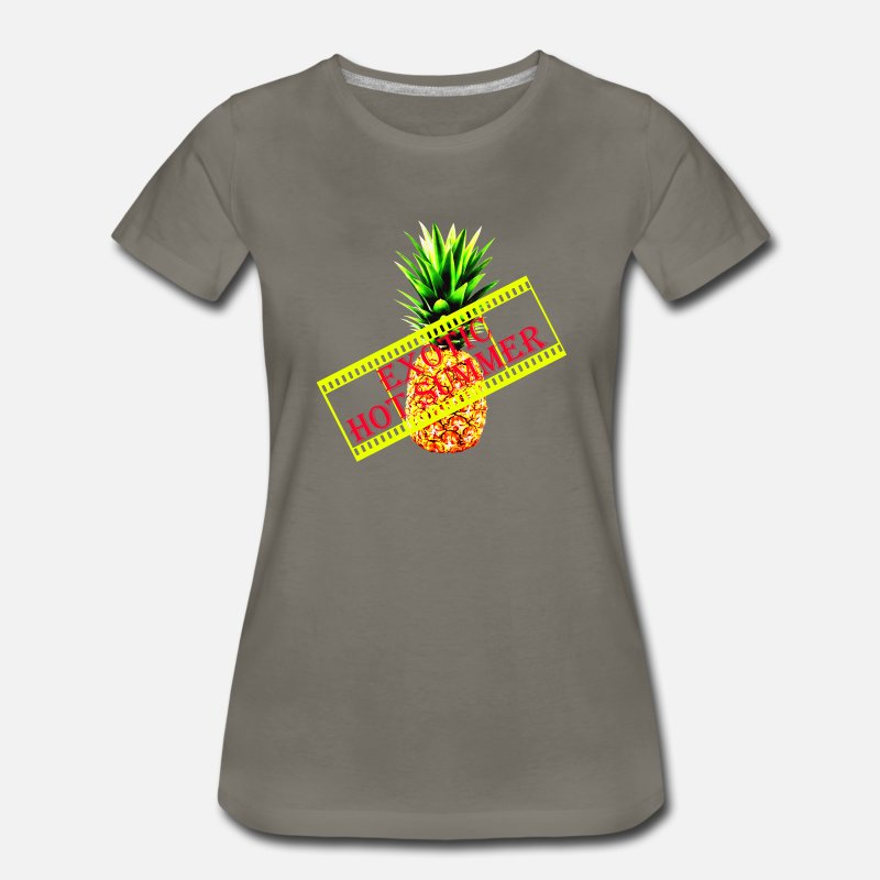 f55e055e93 ANANAS Exotic Hot Summer Women s Premium T-Shirt