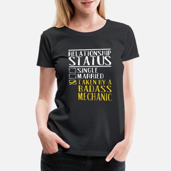44085d658 Women's Premium T-Shirtrelationship status single married taken by a