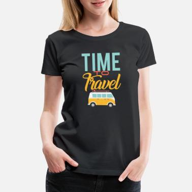 Aged Time to travel - Women's Premium T-Shirt
