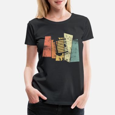 Pop Rock Singer vintage Music - Women's Premium T-Shirt