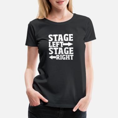 Stage Wear Theater Stage Crew T-Shirt - Women's Premium T-Shirt