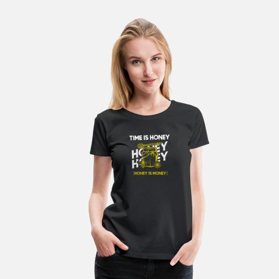 Bee T-Shirts - Honey Bee - Women's Premium T-Shirt black