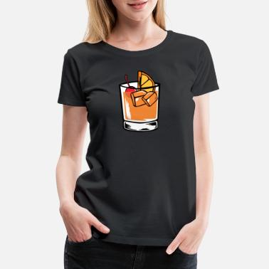 Cocktail Cocktail Alcohol Whiskey Cognac - Women's Premium T-Shirt