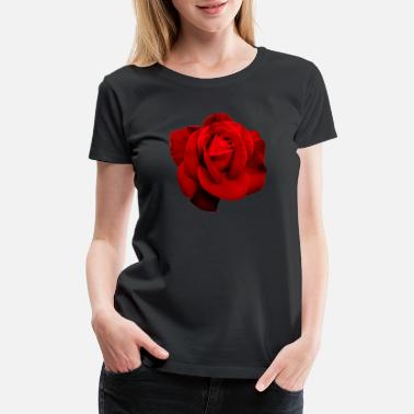 Red Rose Black rose red - Women's Premium T-Shirt