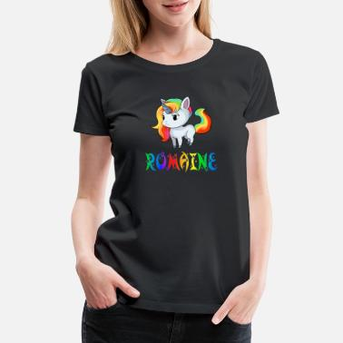 Romain Romaine Unicorn - Women's Premium T-Shirt