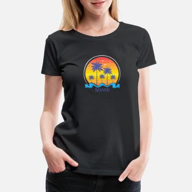 Beachball MIAMI BEACH - Women's Premium T-Shirt